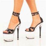 clear platform shoes