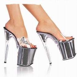 Clear Platform Shoes