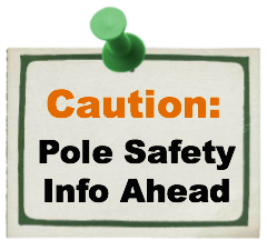 dance pole safety info