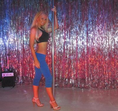 Disco Pole Dancer
