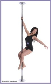 X-Pole Friction Fit Dance Pole
