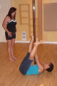 pole dance instructor