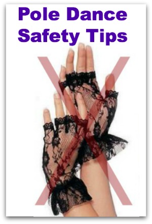 pole dance safety tips