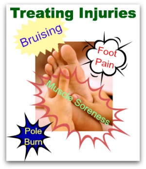 common pole dancing injuries