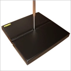 pole crash mat