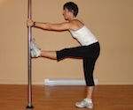 pole stretching