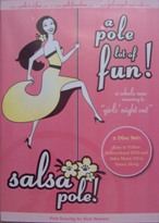 Salsa Pole DVD/CD Set - $24 - See Below For Ordering Info