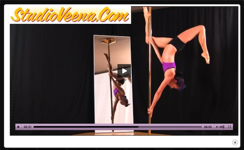 Studio Veena Online Pole Dancing Lessons