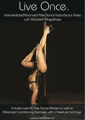 Live Once Pole Dance DVD Cover