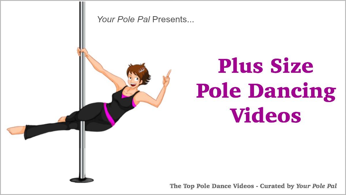 plus size pole dancing videos