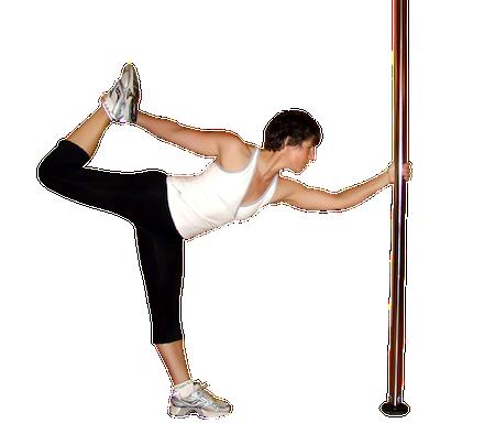 Pole dancing stretc